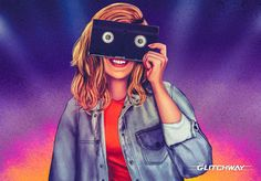 """""""VHS Vision"""" by #Glitchway"""