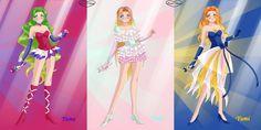 anime girls - singers: Yume, Yuki, Yumi