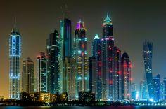 500px / Dubai Marina by Arash Khamooshian
