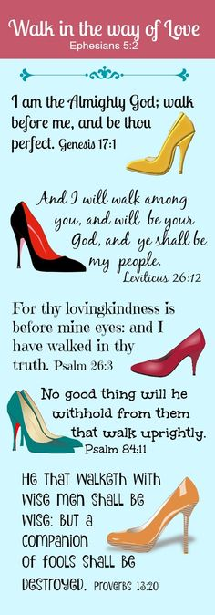 Bible verses and pointy toe high heel pumps! What more could you want?!