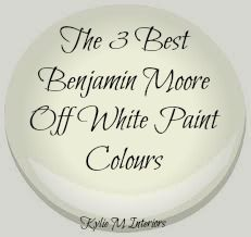 the 3 best top benjamin moore off white paint colors for trim, cabinets, furniture, mantles, cabinets and more. Including Cloud White, Simply White and White Dove