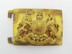 Household Cavalry Belt Plate in Collectables, Militaria, 1946-1960 | eBay