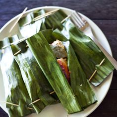 how to prepare fresh banana leaves