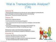 Afbeeldingsresultaat voor transactionele analyse dramadriehoek