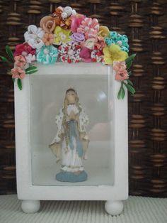 Oratorio-Flores-de-Fuxico-vidro.jpg (640×853)