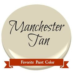 For the boys room: Postcards from the Ridge: Favorite Paint Color ~ Benjamin Moore Manchester Tan