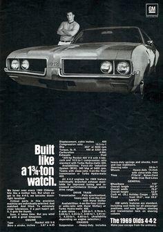 1969 Oldsmobile 4-4-2 Two Door Hardtop