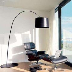 Twiggy Floor Lamp in Black -Open Box
