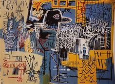 Bird on Money, 1981 by Jean-Michel Basquiat. Neo-Expressionism. figurative. Private Collection