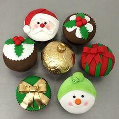 cupcake gigante navideño - Buscar con Google