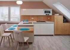 TETŐTÉRI konyha fehér és rusztikus natúr tölgy Corner Desk, House, Furniture, Home Decor, Homemade Home Decor, Home, Corner Table, Haus, Home Furnishings