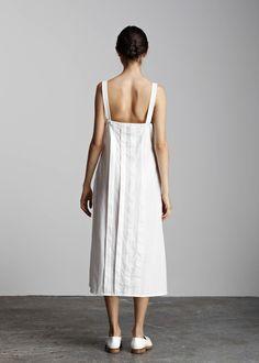 kowtow - 100% certified fair trade organic cotton clothing - Installation Dress