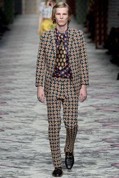 Gucci Spring Summer Primavera Verano 2016 - Milan Fashion Week - #Menswear #Trends #Tendencias #Moda Hombre - Male Fashion Trends