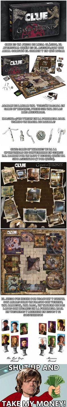 Esta versión de Juego de Tronos es el mejor juego de mesa de la historia        Gracias a http://www.cuantocabron.com/   Si quieres leer la noticia completa visita: http://www.estoy-aburrido.com/esta-version-de-juego-de-tronos-es-el-mejor-juego-de-mesa-de-la-historia/