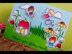 Lawn Fawn Fairy Friends | KW Card Design Video Hop