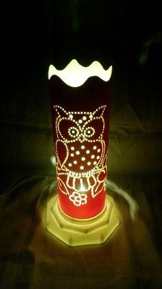 Luminária em PVC de Mesa                                                                                                                                                                                 Más