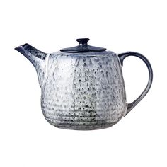 Trouva: Broste Copenhagen Nordic Sea Hand Finished Stoneware Teapot for One Pottery Teapots, Ceramic Teapots, Ceramic Pottery, Broste Copenhagen, Day Use, Nordic Design, Rustic Feel, Tea Set, Green And Grey