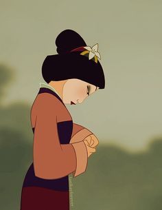 "Mulan__""......when will my reflection show....who I am...inside.""  :'-("