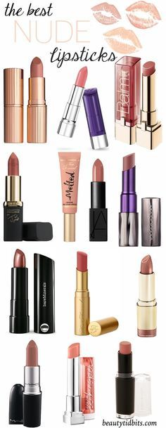 Looking for the perfect nude lipstick? Here are some of the best nude lipsticks for every skin tone!