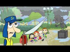 Plaza Imaginaria - Capitulo 01. Serie animada sobre el cambio climático. Producida por el Ministerio del Medio Ambiente y el Consejo Nacional de Televisión de Chile.