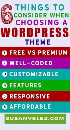 how to choose a WordPress Theme Infographic/ Shopping for a premium theme? Consider the Genesis Framework and find out which child themes I like. #WordPress #blogging #bloggingtips
