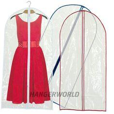 150 cm de fundas transparentes e impermeables ¿alguien dijo que reconocer la ropa en fundas era complicado?
