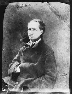 Charles Baudelaire Photographed by Felix Nadar1855  (via waxandmilk)