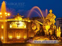 Ισπανία - Μαδρίτη (Plaza de Cibeles - Πλατεία Κυβέλης)