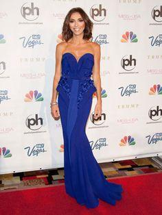 Giuliana Rancic at the 2013 Miss USA Pageant