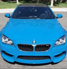 Gorgeous Laguna Blue #BMW M6 COMPETITION package. #spon