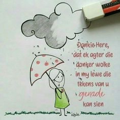 Dankie Here. Vir U genade Afrikaans, God Is Good, Trust God, Party Hats, Good Day, Gods Love, Paper Art, Bible Verses, Christian