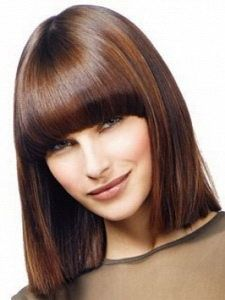 Medium length bob hairstyles for winter