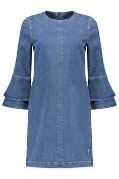 Ganni Dress Compton Denim - F2257 1720 630