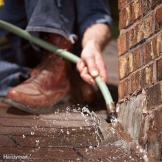You can stop leaks yourself-no experience necessary. We show you how to track down and fix the most common types of roof leaks. Most leaks take only minutes to repair. Roof Leak Repair, Roof Edge, Drip Edge, Chimney Sweep, How To Make Rope, Roof Architecture, Roofing Contractors, Roof Design, Home Repairs