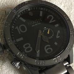 Stealth Bomb.  Black on Black#NIXON 51-30 ALL GUNMETAL/BLACK -NIXON   Buy this watch at an incredible price herehttp://ift.tt/2pCjlJE