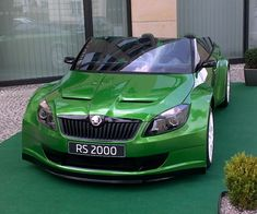 Škoda Fabia RS 2000  #cars #technique #Czechia