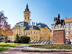 Szeged - Ismerje meg Szeged látnivalóit, nevezetességeit Atlantis, Notre Dame, Mansions, Country, House Styles, City, Building, Places, Amazing
