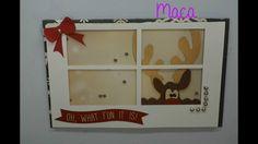 12 Days of Christmas card/12 tarjetas para Navidad #6