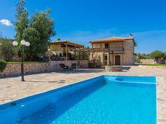 Rethymno villa rental - Villa Ioanna has an amazing private pool! 1st Night, Private Pool, Swimming Pools, Villa, Park, Country, Beach, Garden, Outdoor Decor