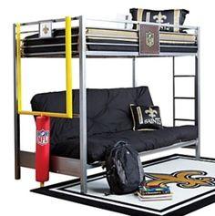 Genial Picture Of NFL Redzone 6 Pc Twin/Futon Loft Bedroom From Boysu0027 Bedroom Sets  Furniture