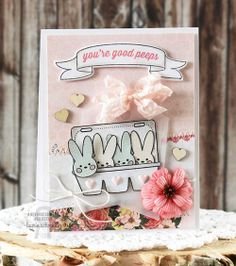 Reverse Confetti | March Release | Carton Cuties stamps and Confetti Cuts, Beautiful Banners #Easter