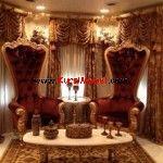 Absolom Roche Baroque Chair - Gold & Amber - Client Photo - Fabulous & Baroque – Fabulous and Baroque Rococo Chair, Baroque Furniture, Royal Furniture, Salon Furniture, Furniture Buyers, Dream Furniture, Furniture Ideas, Furniture Design, Baroque Bedroom