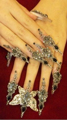 #steampunk #nails