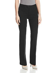 NYDJ Womens Ponte Trouser Black 6 -- More info could be found at the image url.