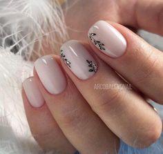 Uñas decoradas: tendencias en manicura para Otoño/Invierno ... #uñasdecoradascortas