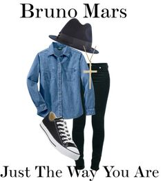 """Bruno Mars Just the Way You Are"" by ebacher on Polyvore !!."