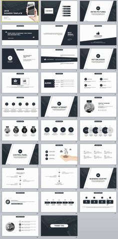 29+ Black Business plan presentation PowerPoint templates