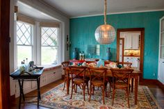 turquoise room images | Turquoise Dining Room Design Ideas, Pictures, Remodel, and Decor