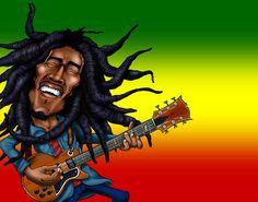 773 Best Bob Marley Caricatures Plus Images Robert Nesta Bob