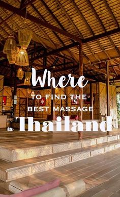 Getting a Thai massage is a good enough reason for a trip to Bangkok or Phuket. But where to go? Here my favorite places for the best massage in Thailand - city, beach & mountain views included! Thai Yoga Massage, Good Massage, Phi Phi Island, Bangkok, Thailand Travel, Asia Travel, Wanderlust Travel, Phuket, Travel Advice